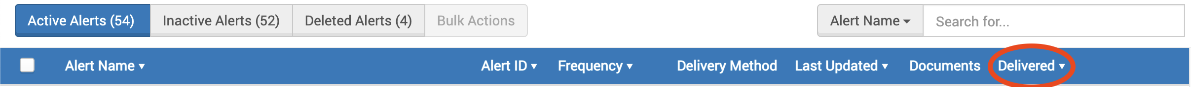 アラート管理画面 新機能追加のお知らせ